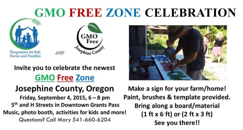 First Friday - GMO Free Zone
